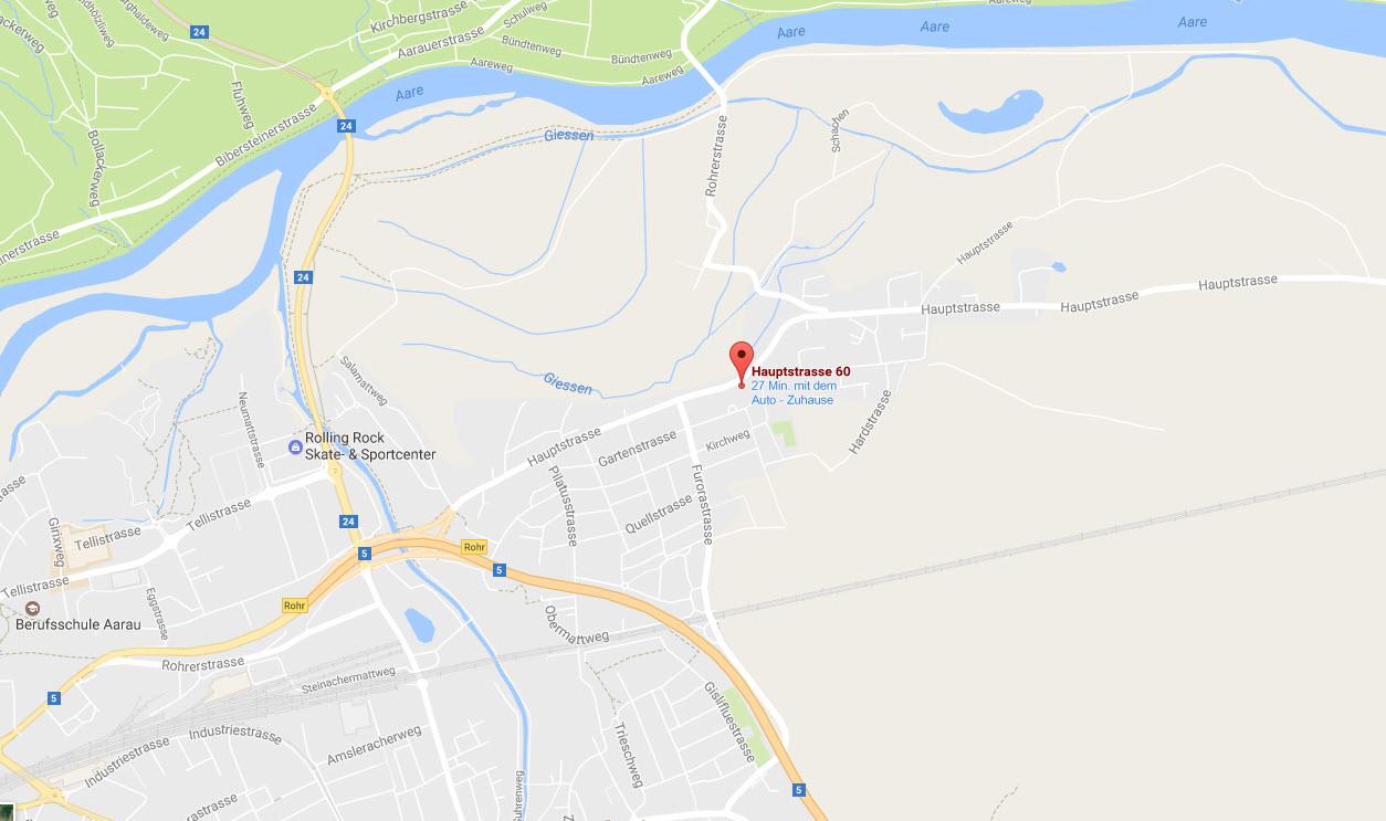 Hauptstrasse 60 5032 Aarau / Rohr